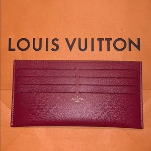 Louis Vuitton NEW Felicie Card Wallet